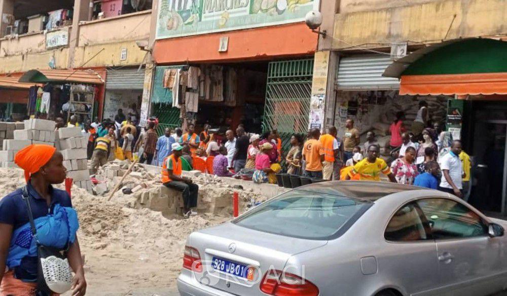 Rénovation du 2e étage du marché Forum d'Adjamé: La Fenacci approuve la décision de la mairie