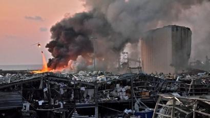 Explosions à Beyrouth: sidération et dévastation dans la capitale libanaise