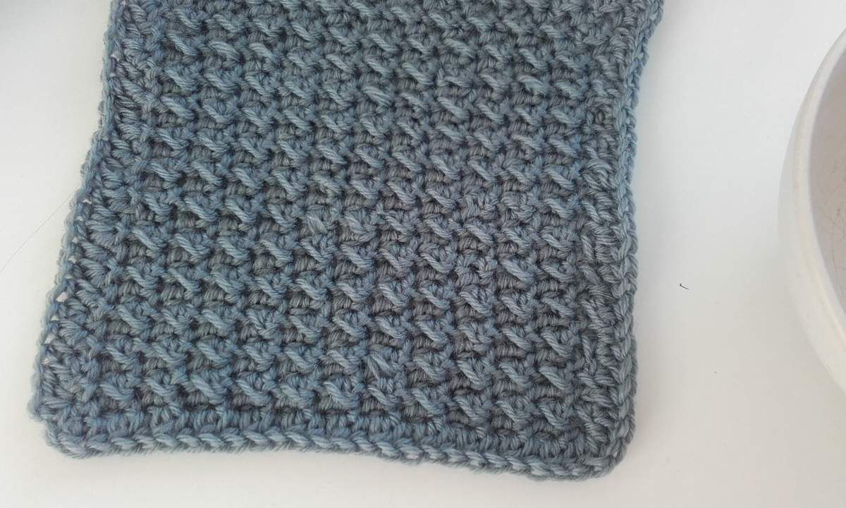 Crochet :: essai de point fantaisie