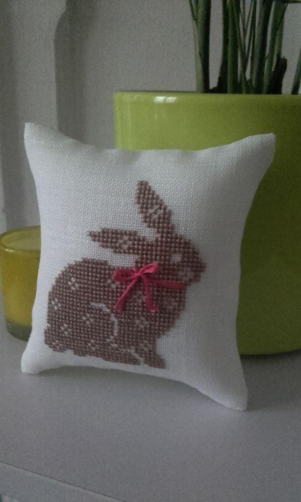 Point de croix : lapin