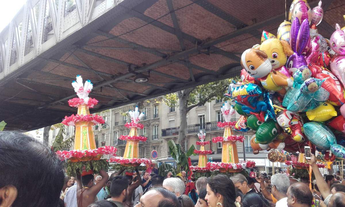Fête indienne à Paris