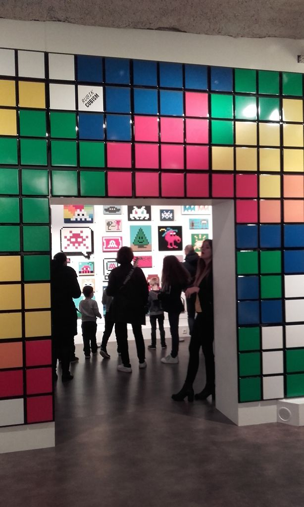 Paris : expo INVADER
