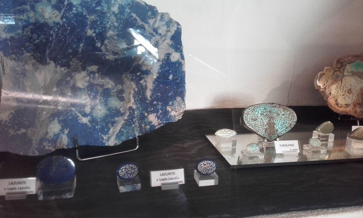Paris : musée de minéralogie