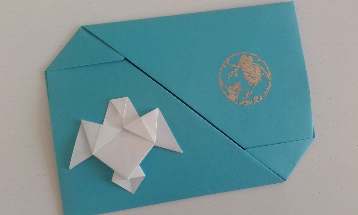 Origami : colombe