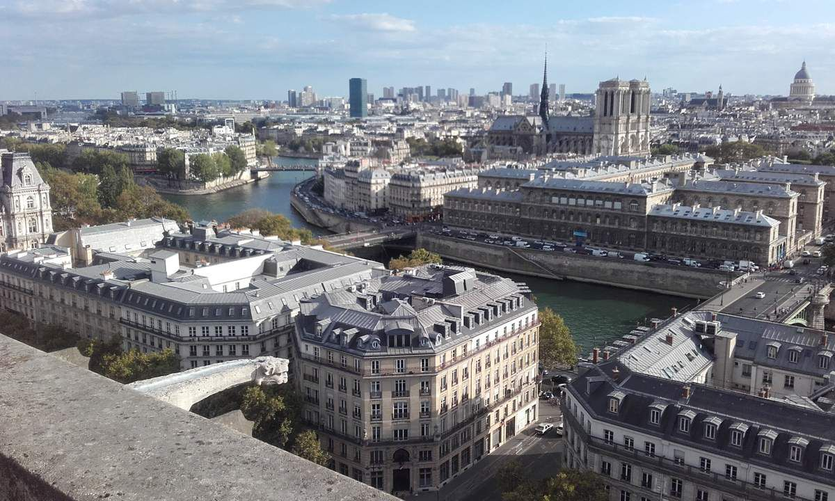 la plus belle vue de Paris