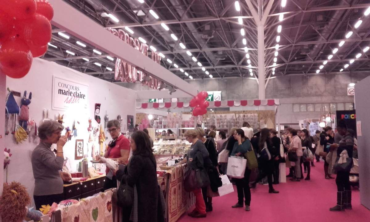 Salon CREATIONS & SAVOIR-FAIRE en nocturne hier