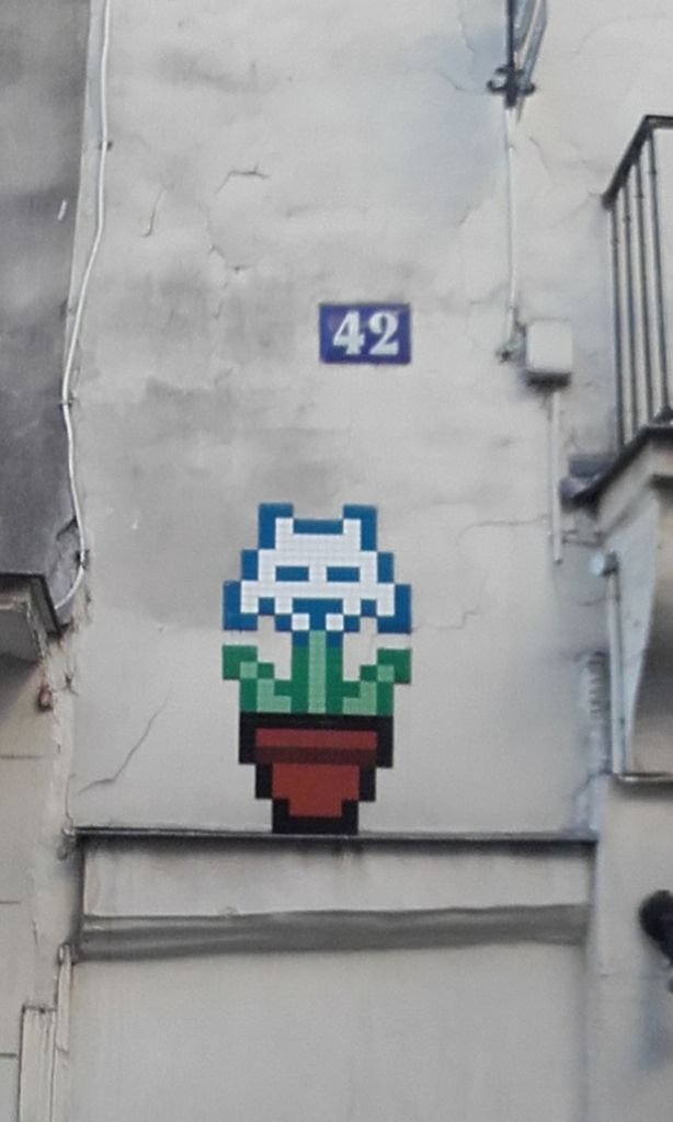 Paris : Invader printanier