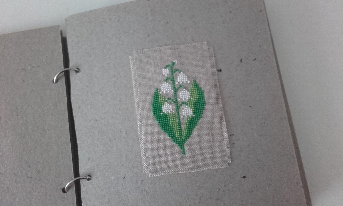 Herbier brodé - suite