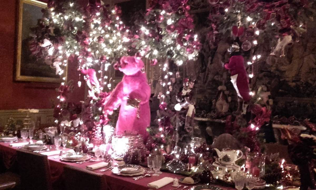 1 table de Noël à faire rêver