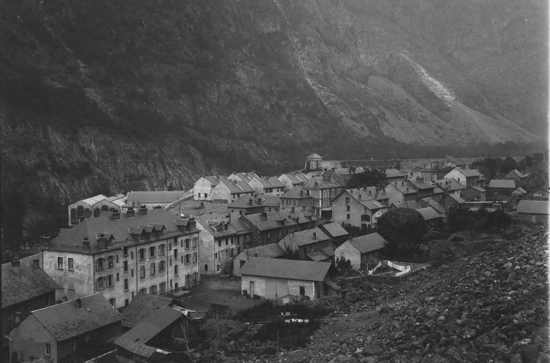 Rioupéroux: vue générale en 1910