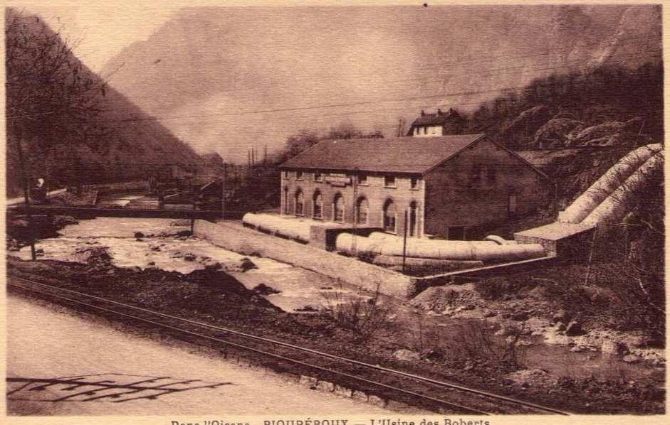 Centrale Hydro-électrique des Roberts
