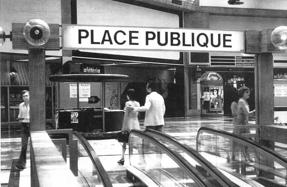 Grand'place 1980 - Entrée coté Nord