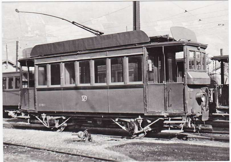Dépôt ile-Verte (Grenoble) - photo de 1948