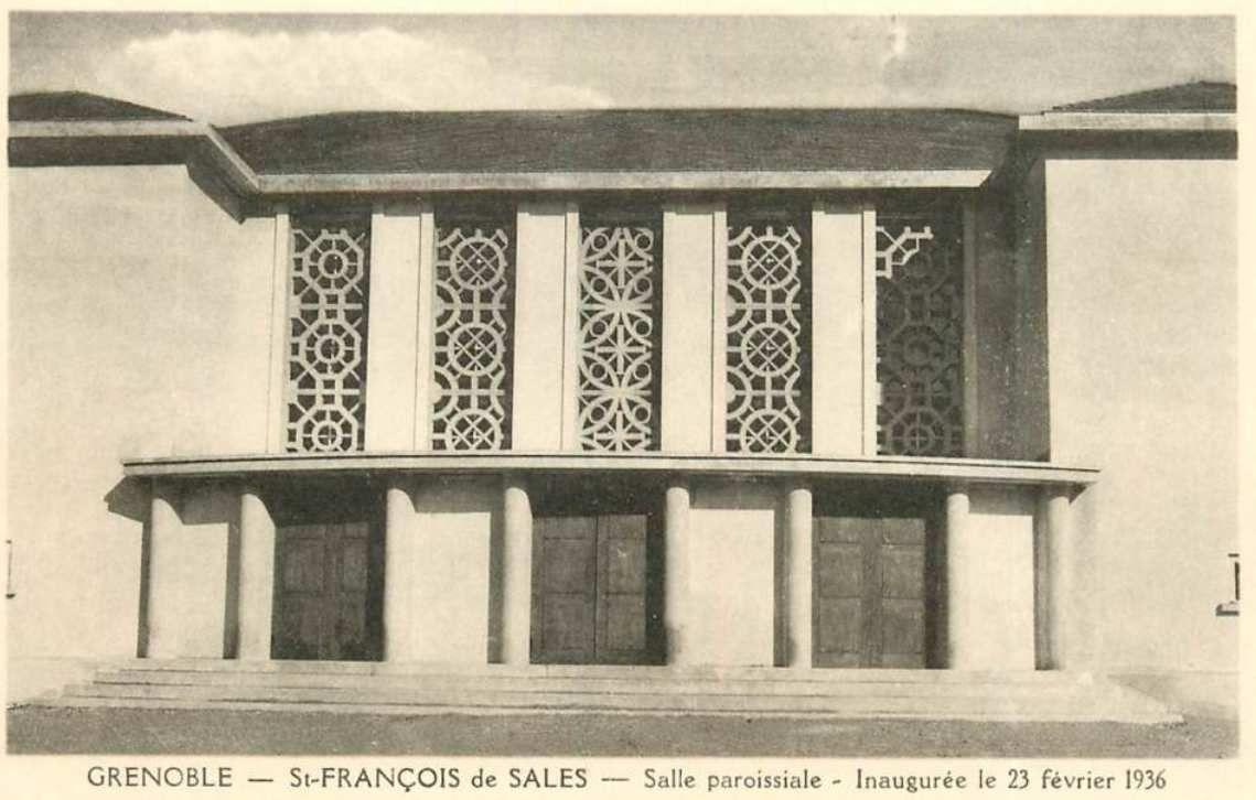 Eglise saint François de Sales en 1936