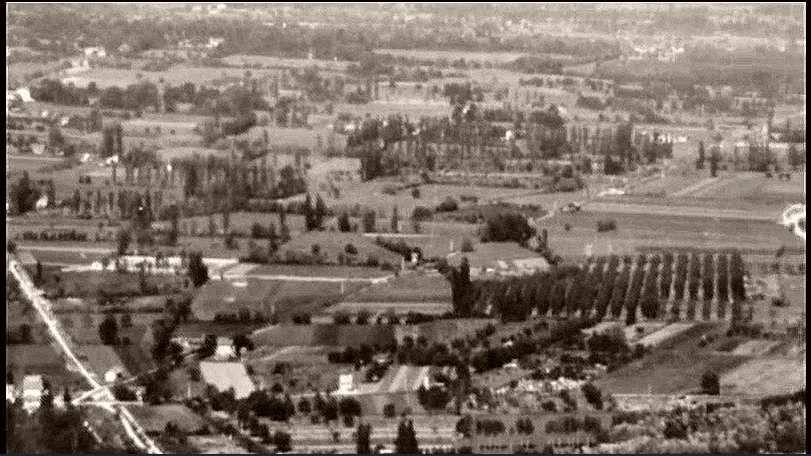 Vue du futur quartier Abbaye - Teisseire avant urbanisation