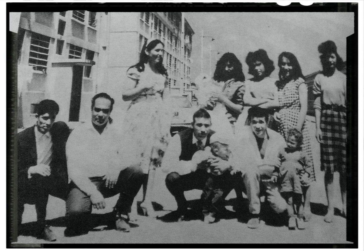 famille de gitans au Chatelet