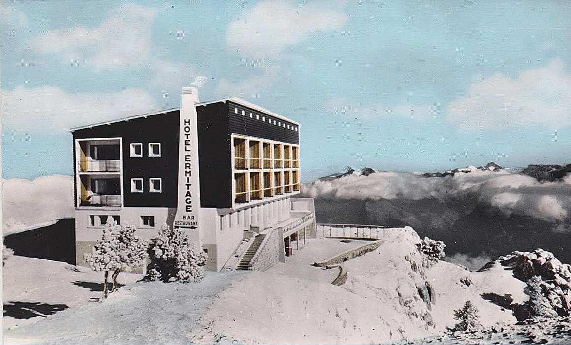 Hotel Ermitage en hiver