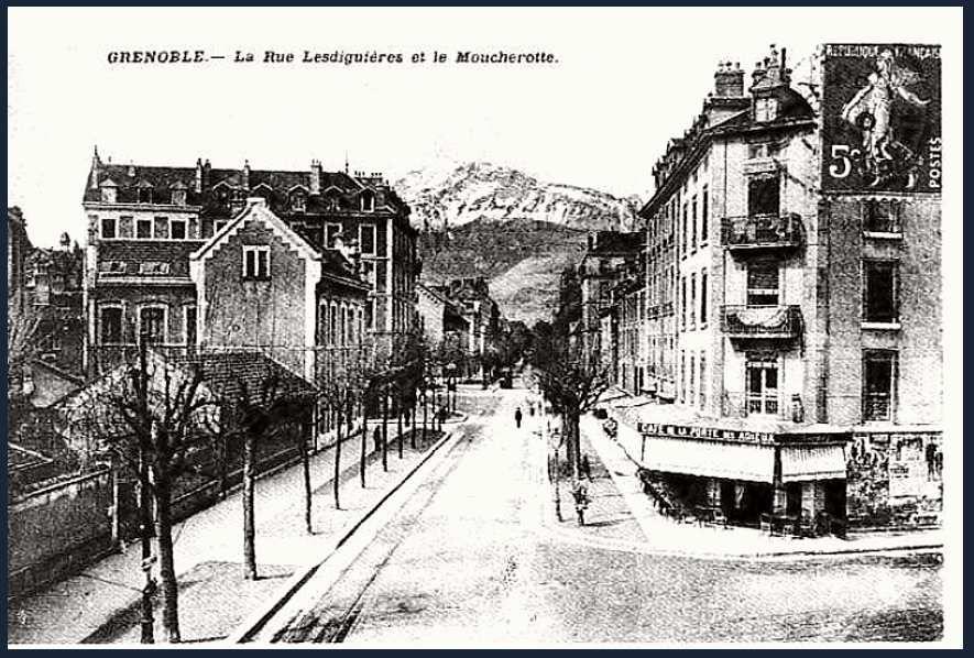 Rue Hébert (anciennement un bout de la rue Lesdiguières)