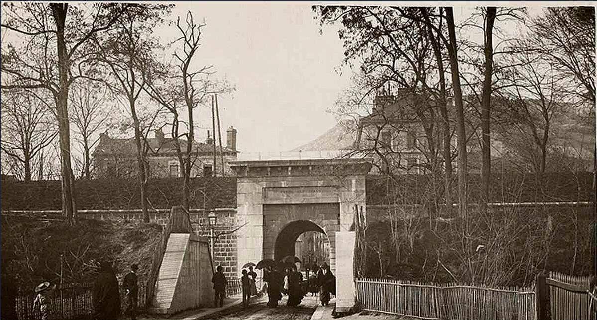 Porte des Alpes (après 1850)