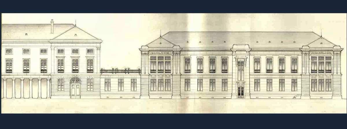 Plan museum d'histoire naturelle