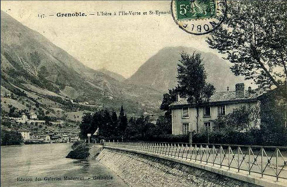 quai de l'ile verte face au quartier Saint-Laurent