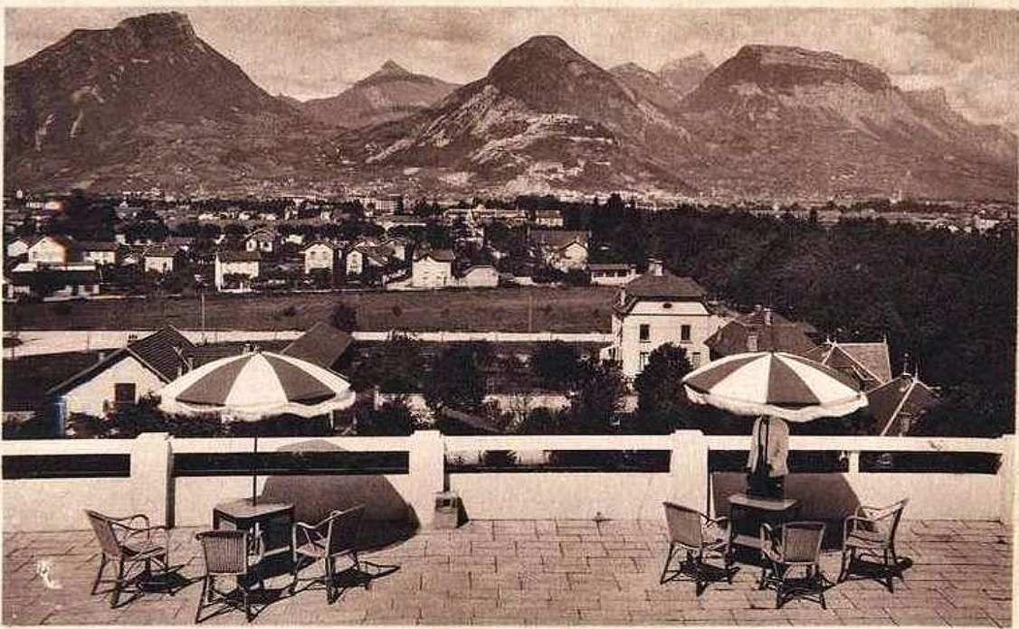 Vue des eaux-claires depuis l'hotel Lesdiguières '1935)