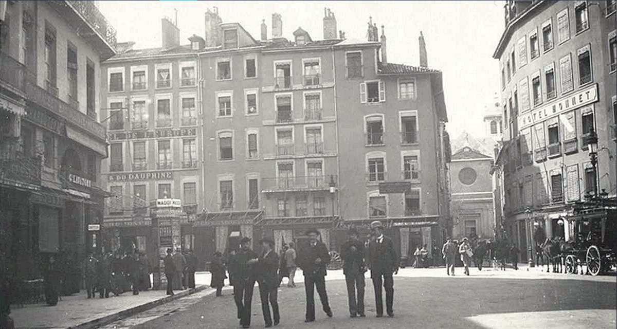 Rue St-Louis début XXème siècle