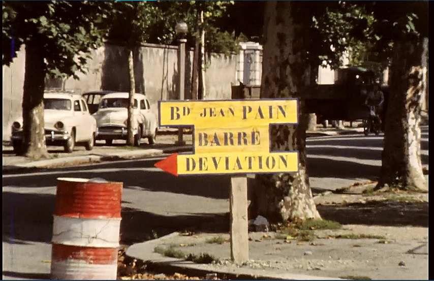 Bd Jean Pain avant construction de la nouvelle mairie