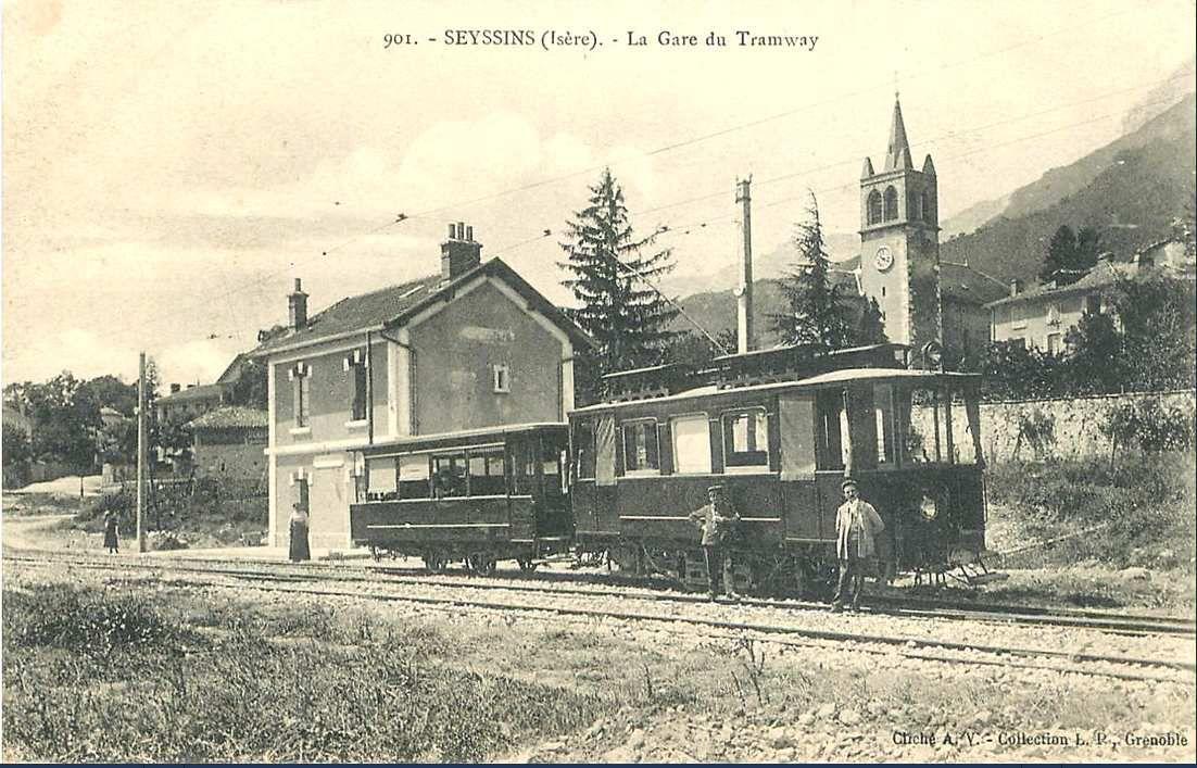 Arrivée gare de Seyssins
