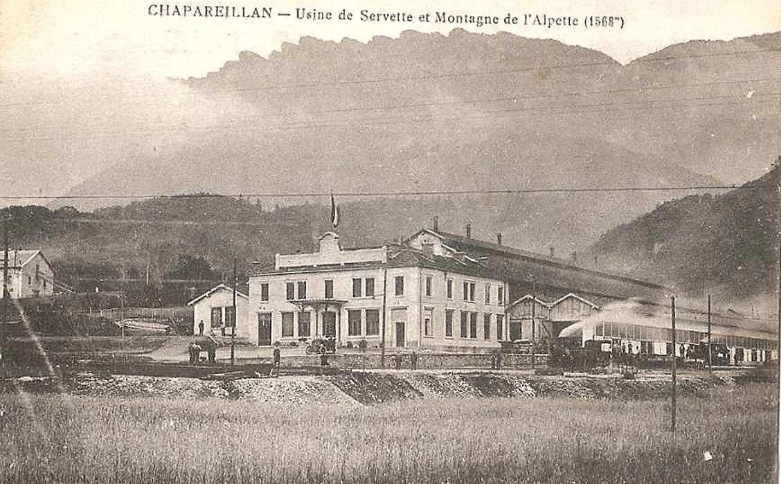 Chapareillans : une usine desservie par le tramway
