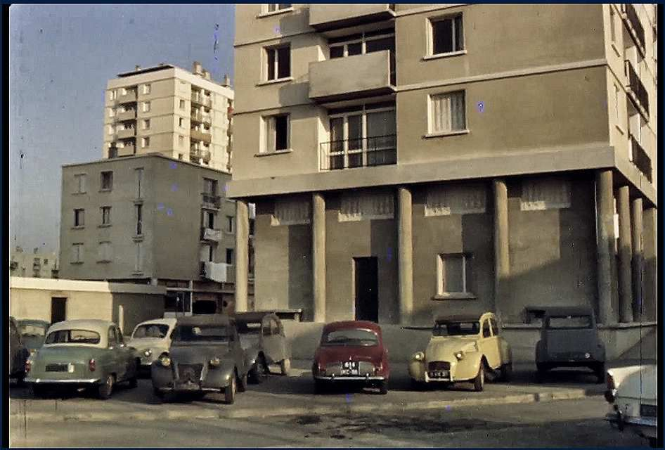 Quartier Teisseire en 1964 -photo Jack Lesage