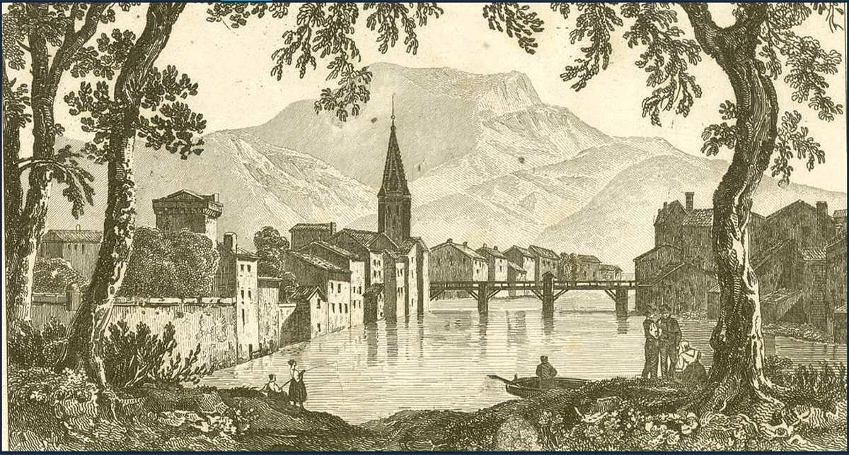 Grenoble début du XIXème  siècle