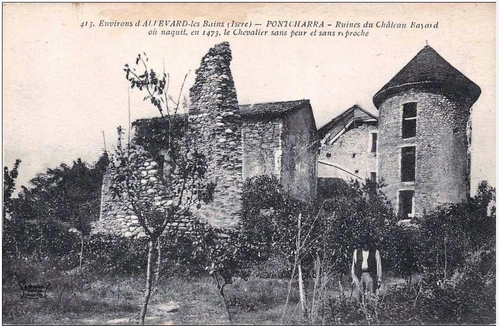 Lieu de naissance du chevalier Bayard à Pontcharra