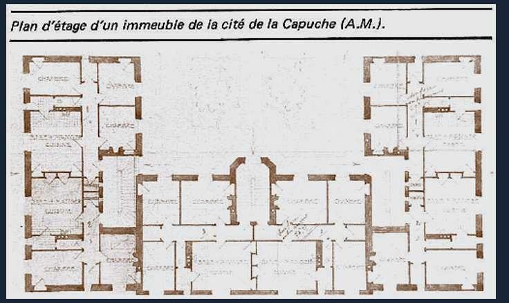 Les plans d'un étage type