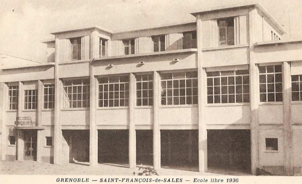Ecole St françois de Sales dans les années 30