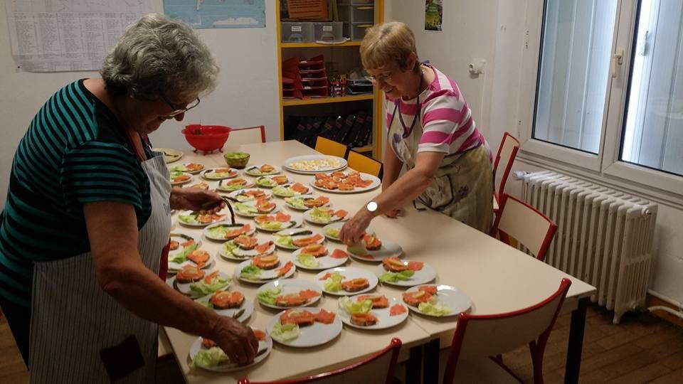 Repas solidaire du mercredi 13 juin
