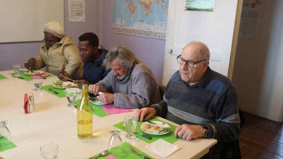 Repas solidaire du mercredi 23 janvier