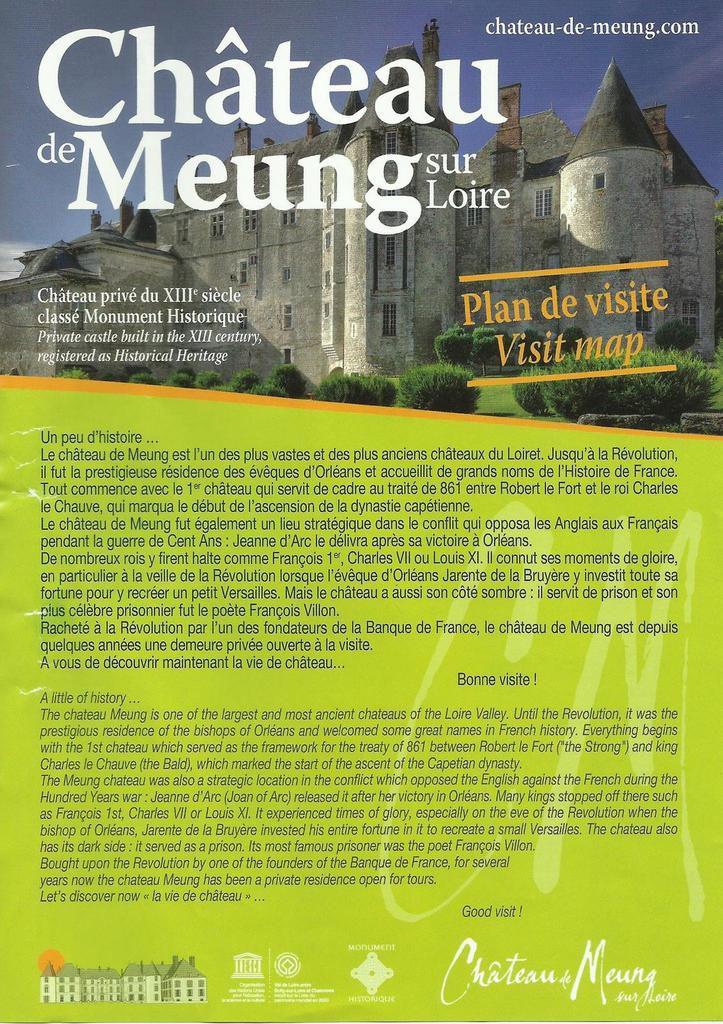 Meung sur Loire. Loiret 2017