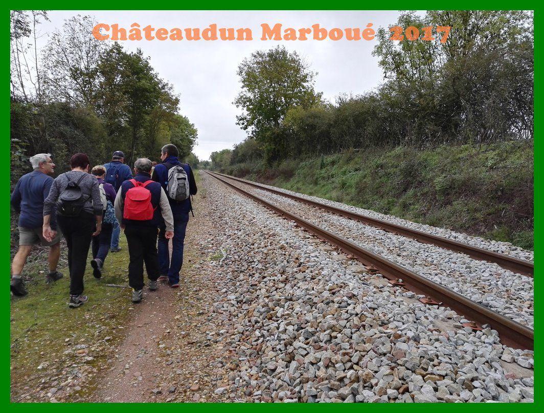 Randonnée de Châteaudun à Marboué. 2017