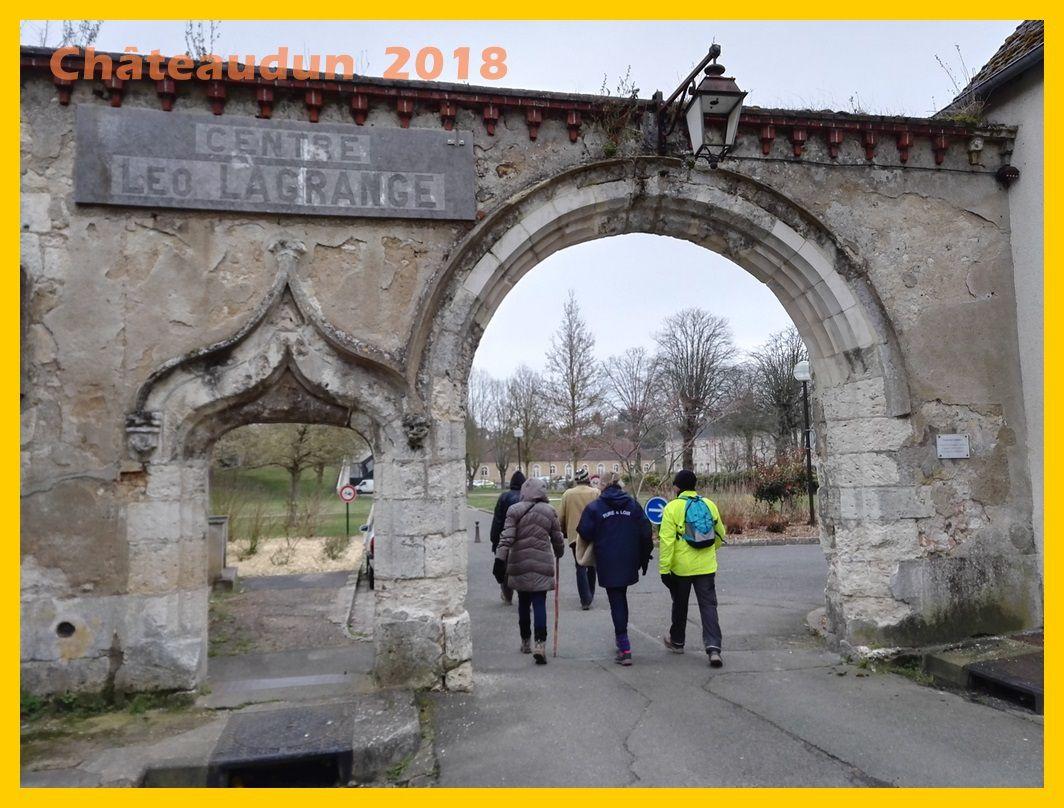 Randonnées pédestres de la vallée du Loir. Châteaudun 2018.
