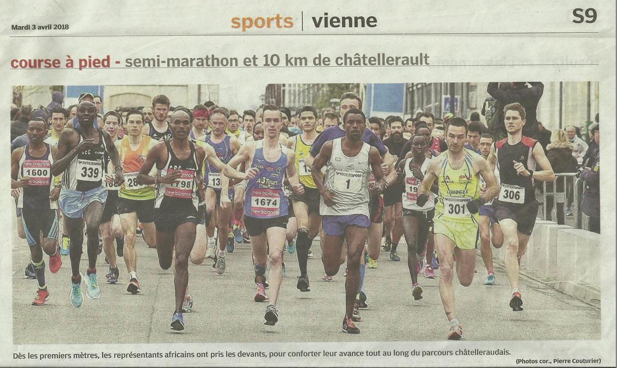 Journal des sports de la Nouvelle République.