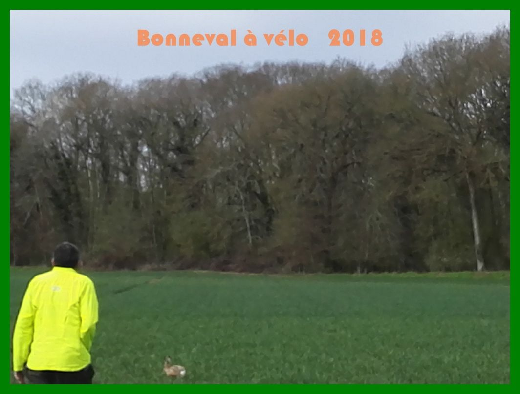 Sortie vélo autour de Bonneval. 2018
