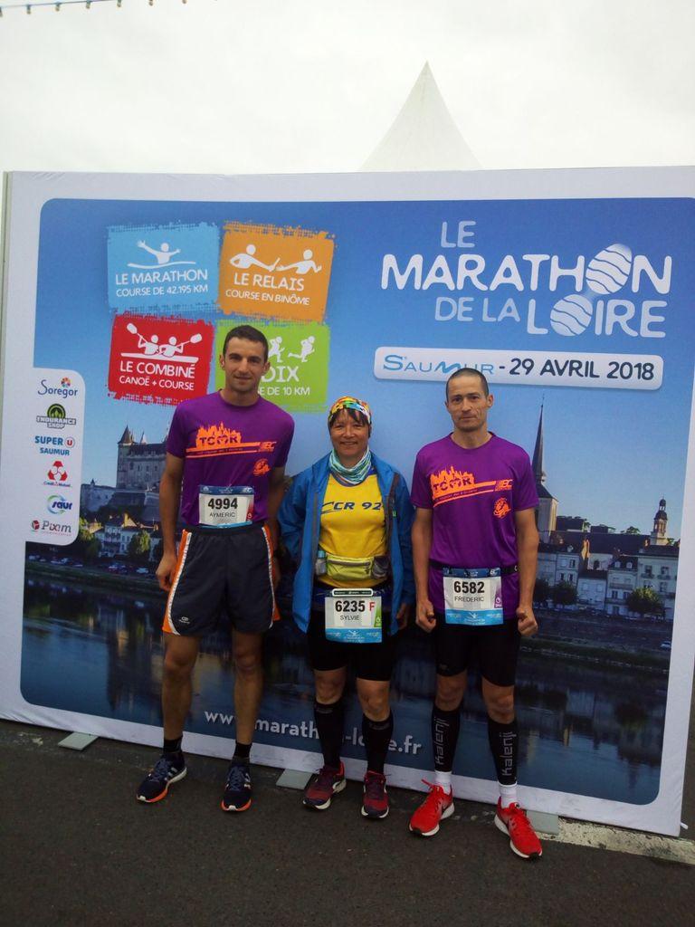 Finishers du Marathon de la Loire 2018 :)