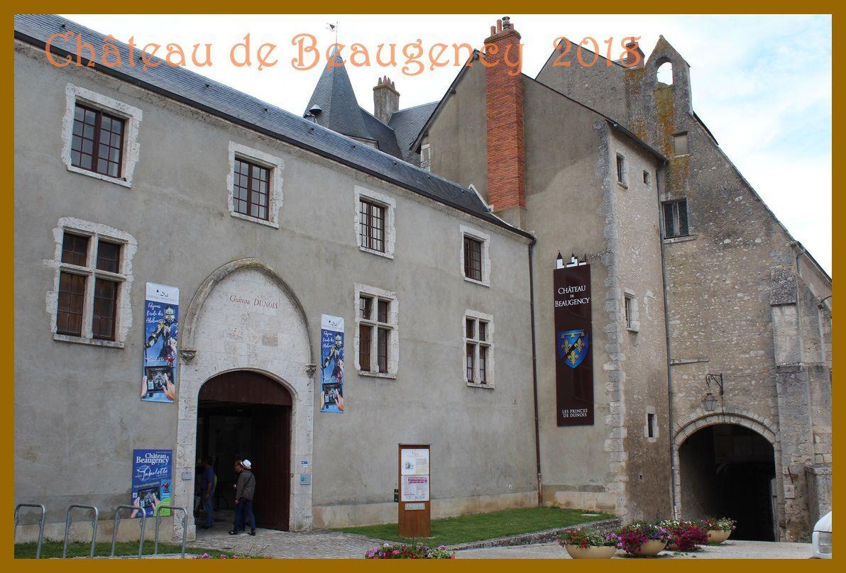 Château de Beaugency 2018. Loiret.