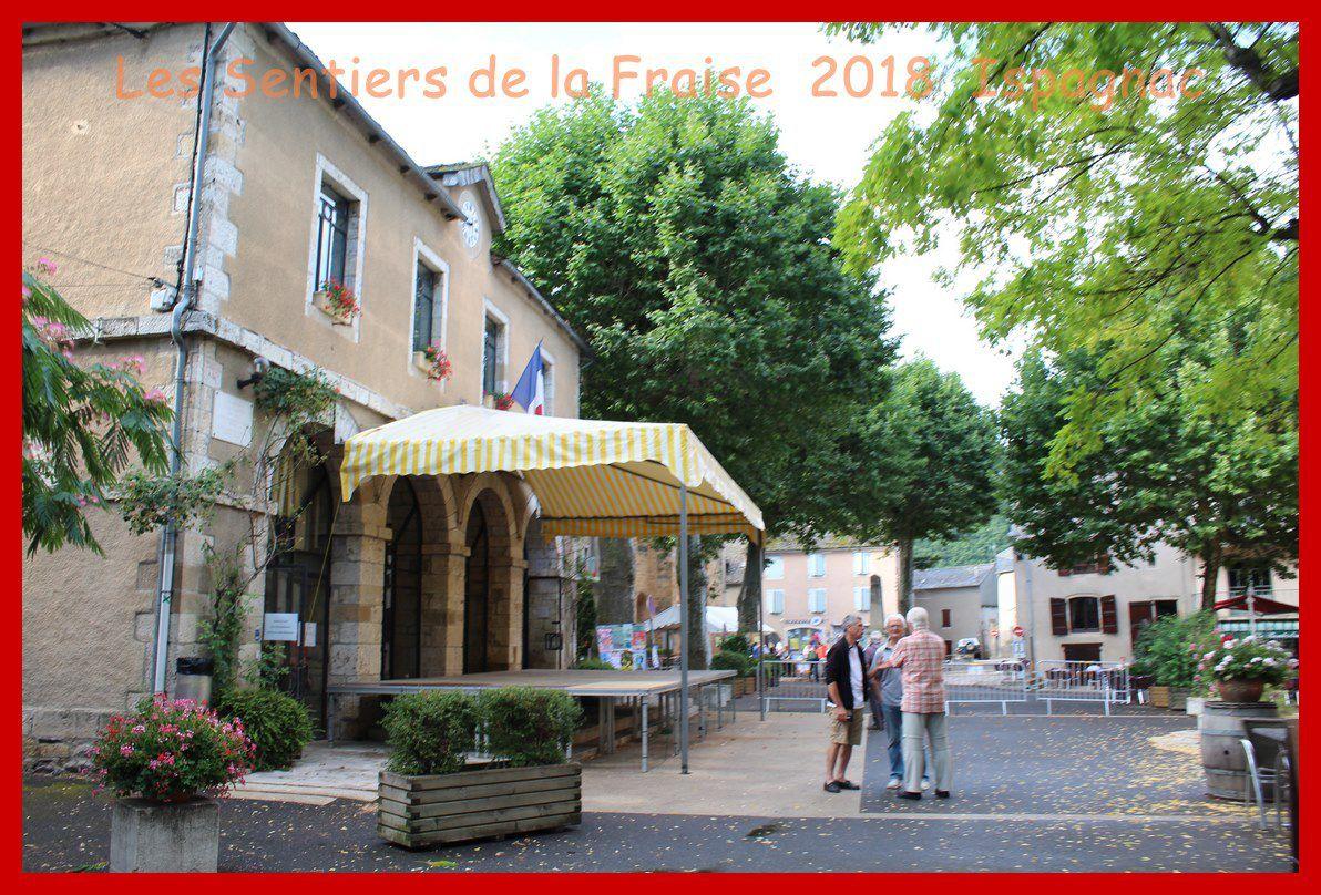 Les Sentiers de la Fraise. Ispagnac 2018.