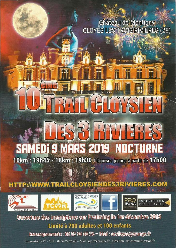 Trail Cloysien des 3 Rivières 2019