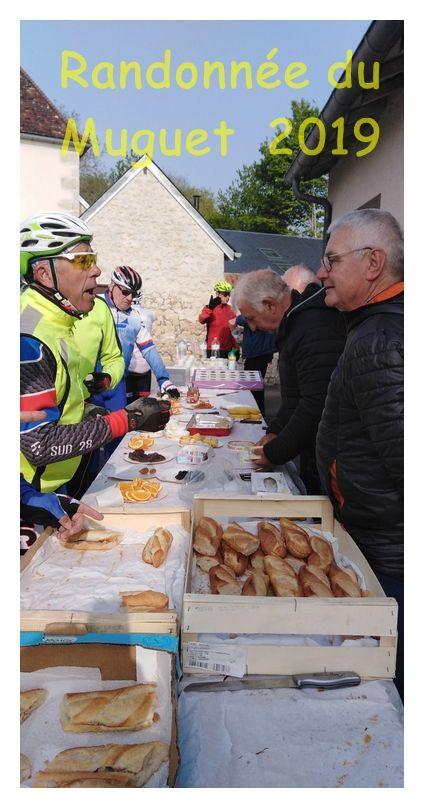 Randonnée du Muguet à vélo. Premier Mai 2019
