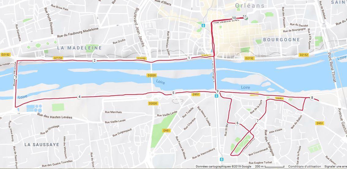 Les Foulées d'Orléans 2019