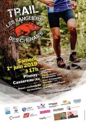 Trail Les Sangliers des Chênaies 2019. Sortie club CCR92.