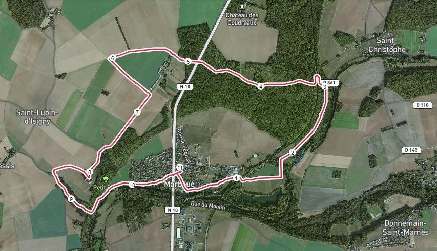 Ma trace GPS
